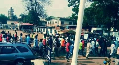 Breaking news mokwa, local government is on fire