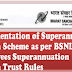 Implementation of Superannuation Pension Scheme: BSNL Circular No. 382 dated 28.09.2017