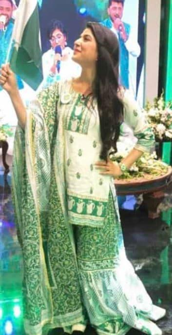 Best 14th August Dress Ideas from Famous Showbiz Stars