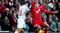 بهدف وحيد الدنمارك تحقق الفوز على منتخب سويسرا في التصفيات المؤهلة ليورو 2020