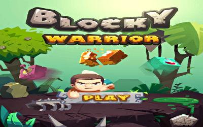 Blocky Warrior - Jeu de Puzzle / Combat en Ligne