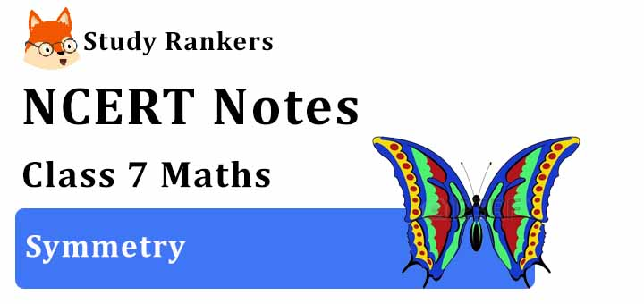 Chapter 14 Symmetry Class 7 Notes Maths