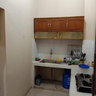 Dapur rumah 2 lantai di Perumahan Citra Wisata Jl. Karya Wisata Medan Johor Medan Sumatera Utara