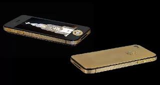 Stuart Hughes iPhone 4S Elite Gold in Hindi