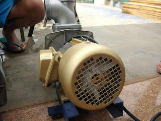 Pompa Air Modifikasi Untuk Kolam Ikan Murah Meriah