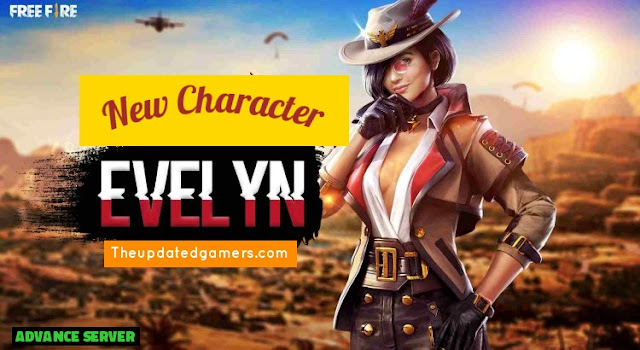 Free Fire New Character Evelyn
