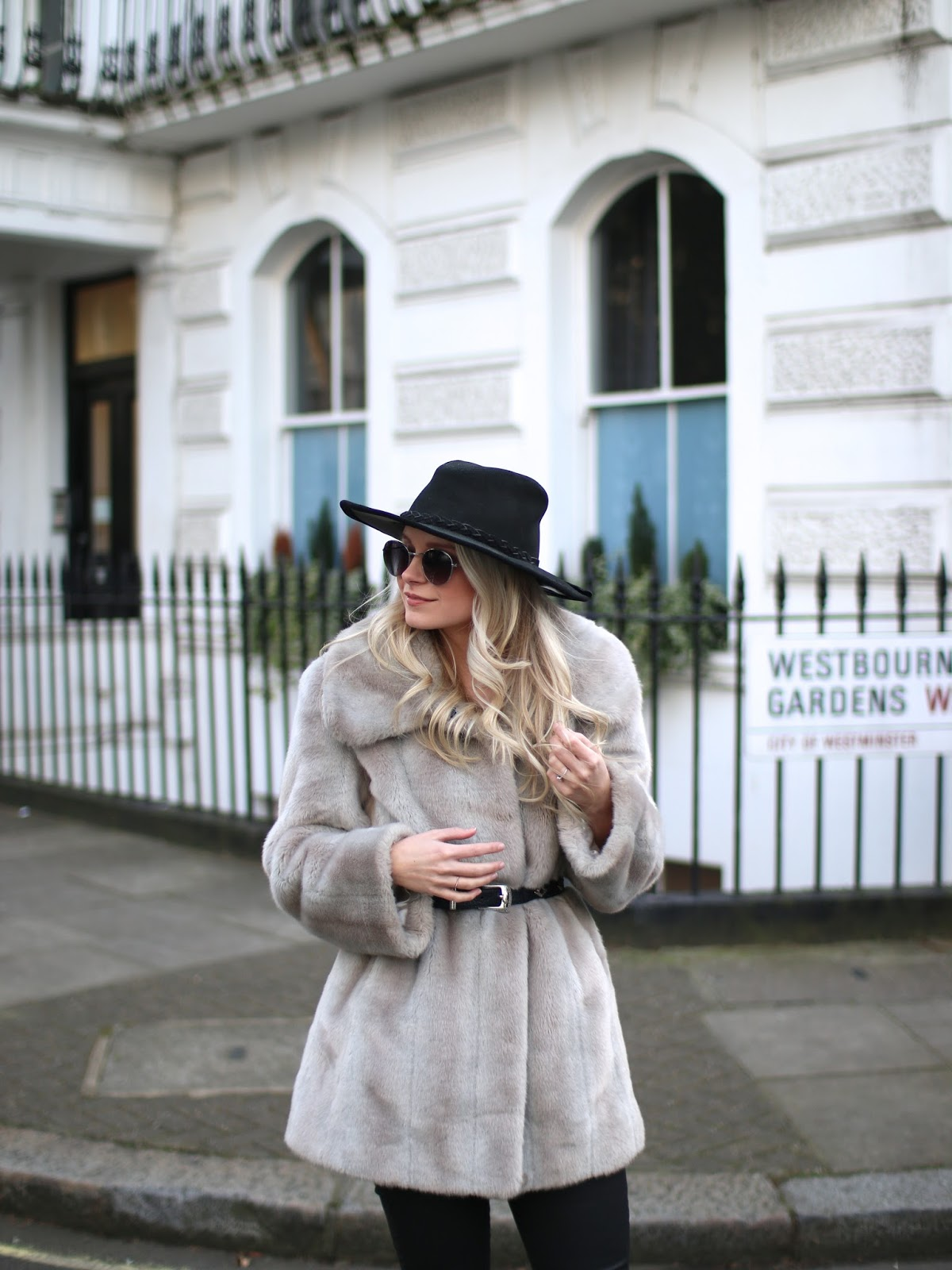 how to style a fur coat