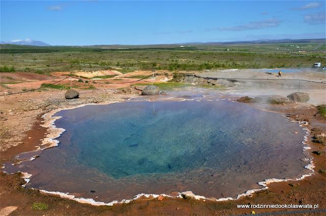 Islandia wyspa lodu i ognia- Golden Circle i krater Kerid