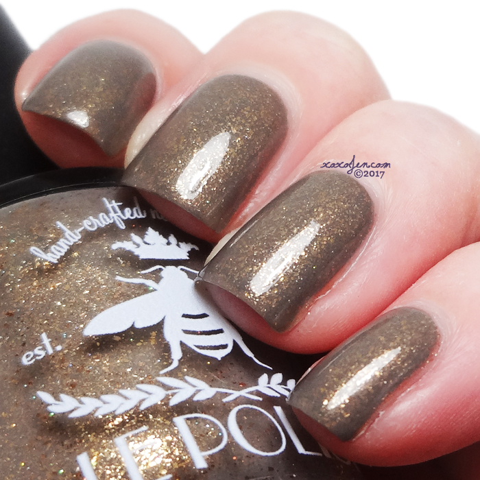 xoxoJen's swatch of LE Polish Polish Con't Go