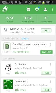 شرح تطبيق AppKarma و كيف يمكن ربح  المال منه في الأندرويد