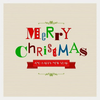 Merry Christmas greetings Vector