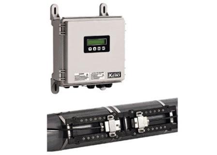 Tokyo Keiki UFW-100 clamp on Ultrasonic Flowmeter