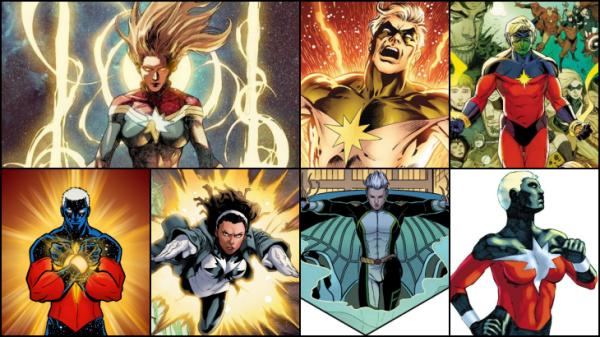 7 Captain Marvel yang Wajib Kamu Kenal