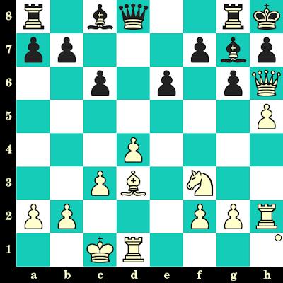 Les Blancs jouent et matent en 2 coups - Arthur Dake vs Timothy Cranston, Varsovie, 1935