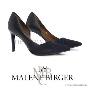 Princess Marie wore BY MALENE BIRGER Paxlow Pump
