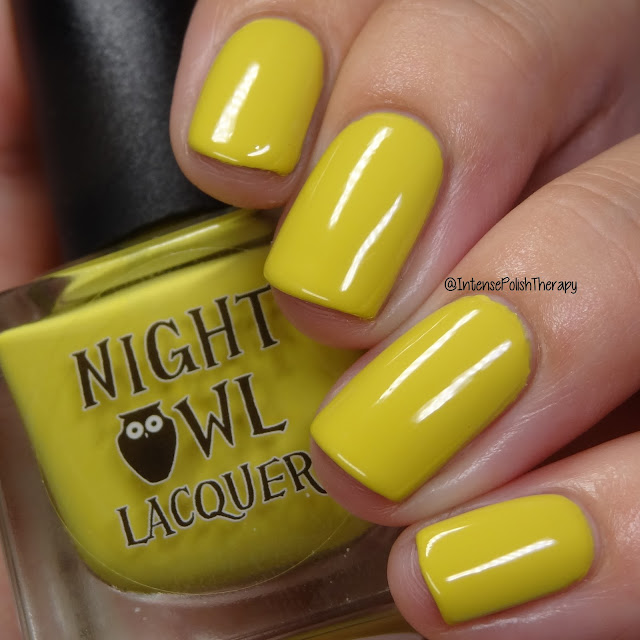 Night Owl Lacquer It Mustard Been Love | September 2019 COTM