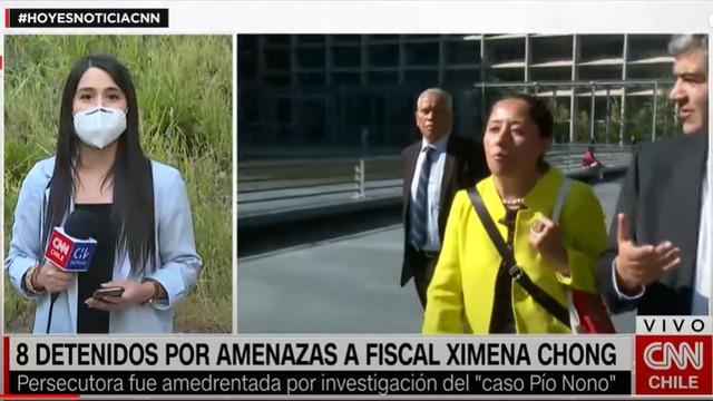Ximena Chong en CNN Chile