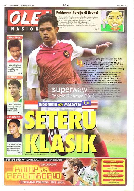 INDONESIA VS MALAYSIA SETERU KLASIK