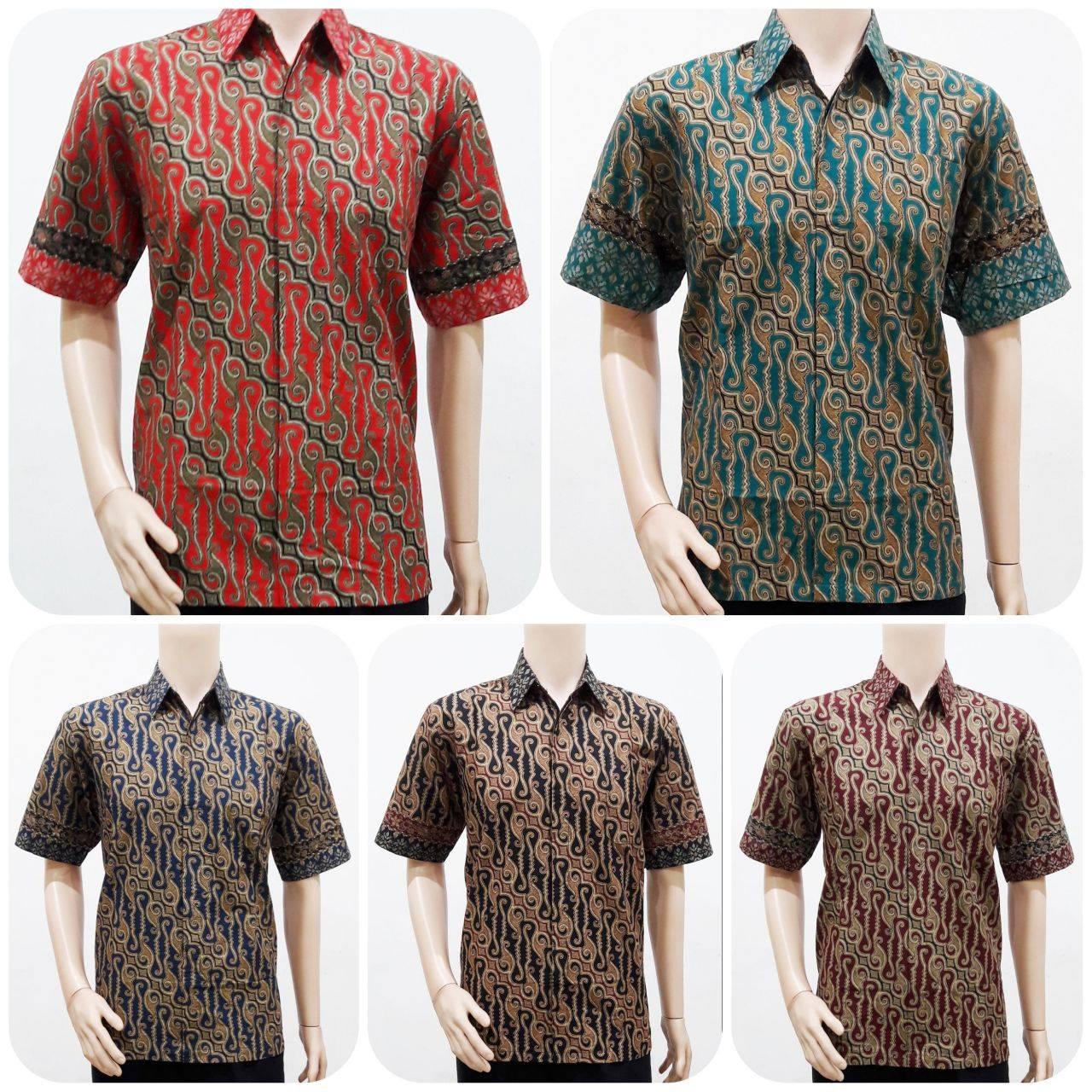 Jas Batik Pria Terbaru: Jual Model Batik Pria Modern Terbaru 2016 Motif Parang