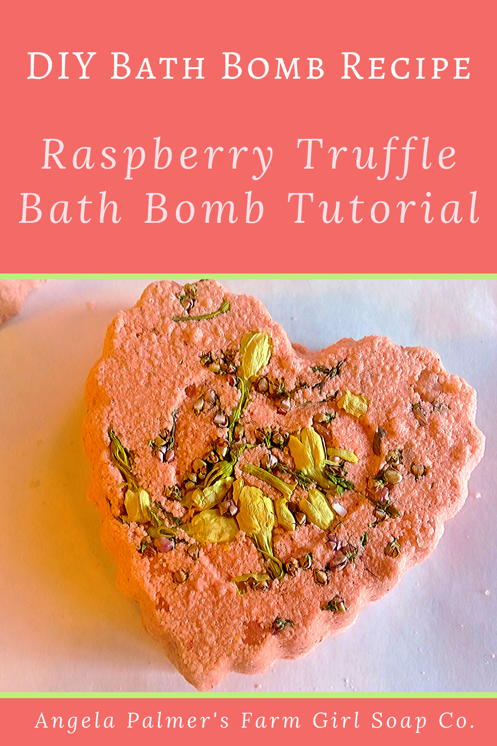 This DIY bath bomb recipe smells as sweet as it looks! Learn how to make these darling Raspberry Truffle bath bombs with this easy DIY bath bomb tutorial.