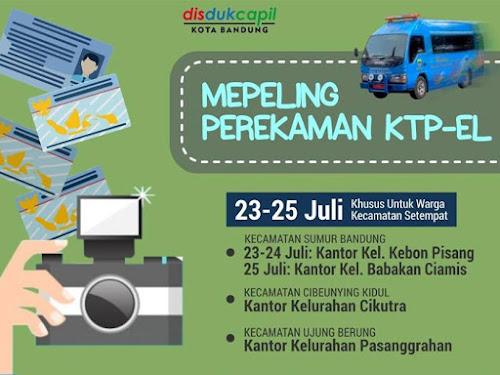 Jadwal Mepeling Kota Bandung Bulan Juli 2018