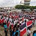 Realizan actos en Nagua por motivo de la conmemoración del 207 aniversario del natalicio de Juan Pablo Duarte.