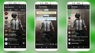 Cara Merubah Tampilan Whatsapp Menjadi Tema PUBG