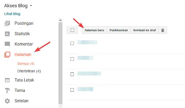 Memasang Contact Form Blogger Dihalaman Static Template LinkMagz