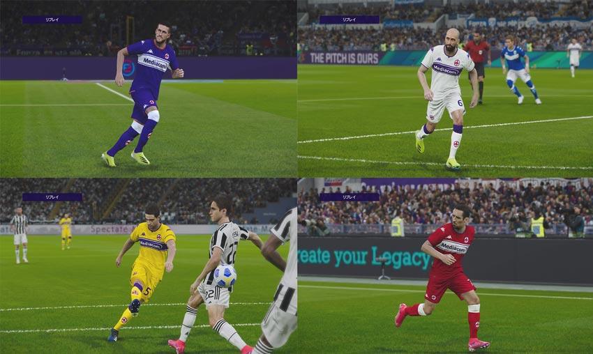 Fiorentina Season 2021-2022 Kits Pack For eFootball PES 2021