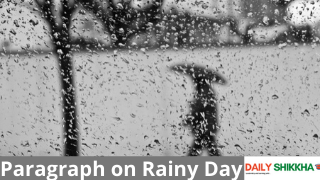 Paragraph on a Rainy Day