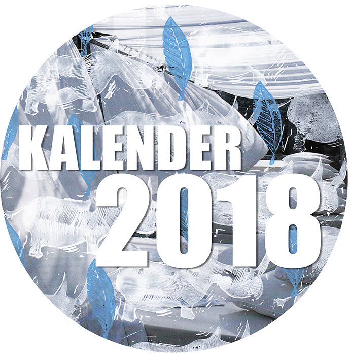 Ynas Blog | Kalender 2018 | A4
