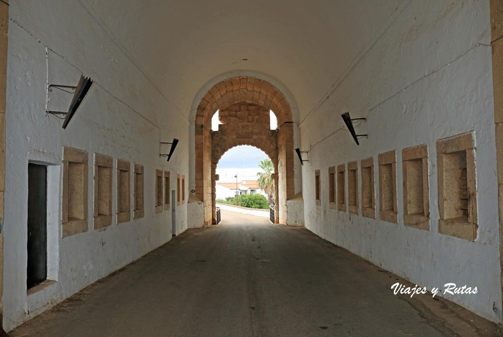 Puerta del Calvario, Olivenza