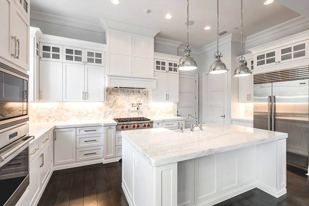 marble kitchen countertops