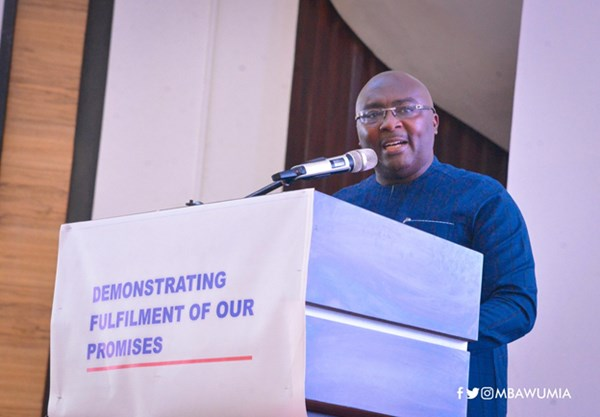 We've Steadied The Economic Ship, Ghana Is On Course - VP Bawumia