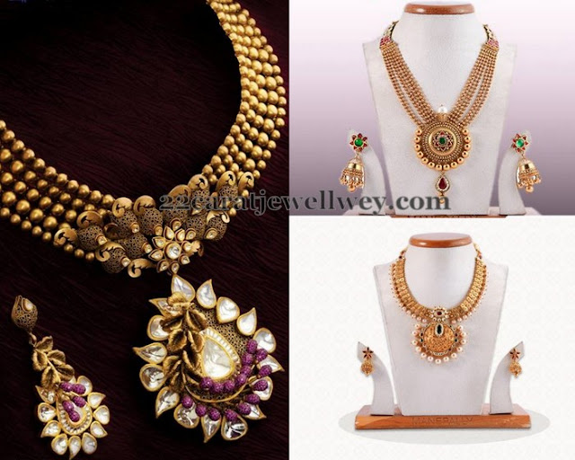 Antique Sets with Classic Jhumkas