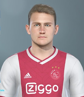 PES 2019 Faces Matthijs de Ligt by DNB