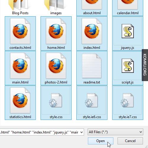 Google Drive - upload all files