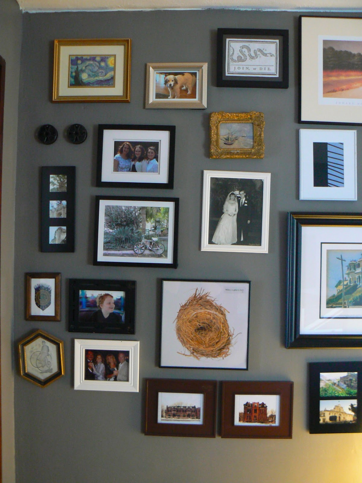 Fabric Wred Picture Frame