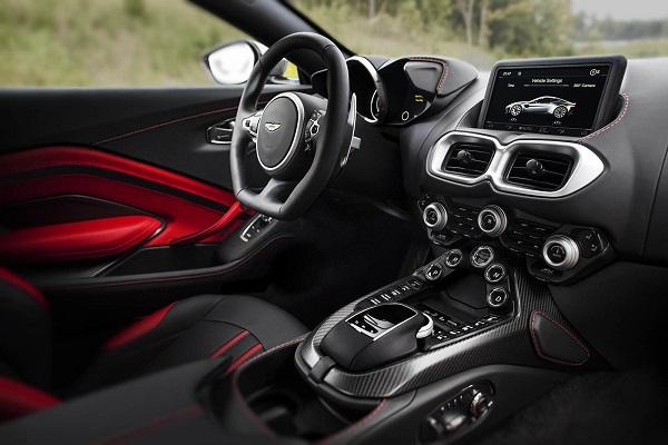 Interior Aston Martin Vantage
