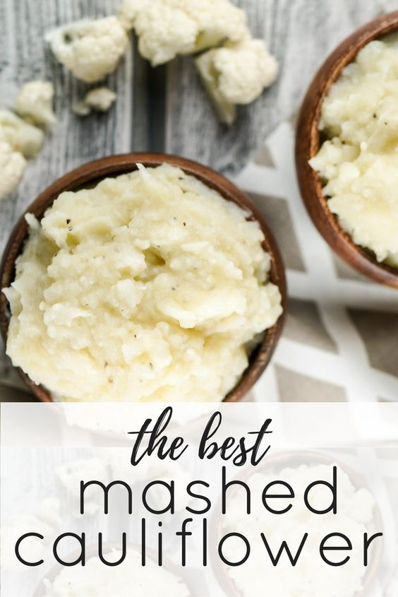 I have been making mashed cauliflower for years and honestly I love it pretty much any way you make it. However my family doesn't feel the same way. They normally will tolerate mashed cauliflower only if I mix in a few potatoes and its still not their favorite. That all changed with this recipe. The secret? Drying off the cauliflower before its mashed. Its such a small step but it makes all the difference. This ensures a fluffy, thick mash like you would get with traditional potatoes. Then to make sure it really tastes amazing, it is mixed with a quick garlic butter, cream cheese, and Parmesan cheese. Seriously delicious.