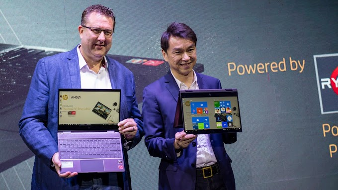 Notebook Convertible Tipis Paling GANTENG dan POWERFUL, HP ENVY x360 13 Review