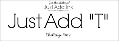 Jo's Stamping Spot - Just Add Ink Challenge #417
