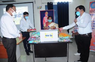 गरीबों की सहायता से बड़ा कोई धर्म नहीं : कुलपति  | #NayaSaveraNetwork