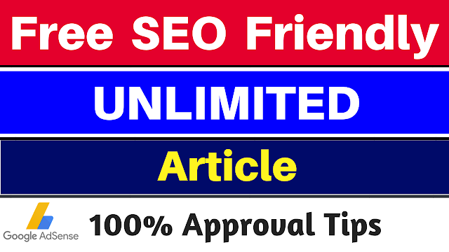 free seo friendly unlimited articles