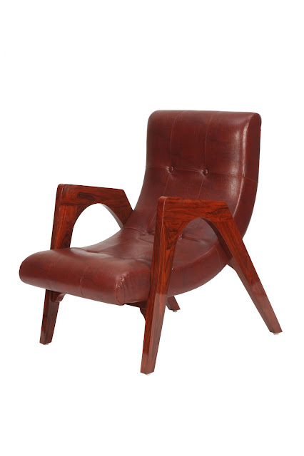 Leather Armchair by Casa Colour