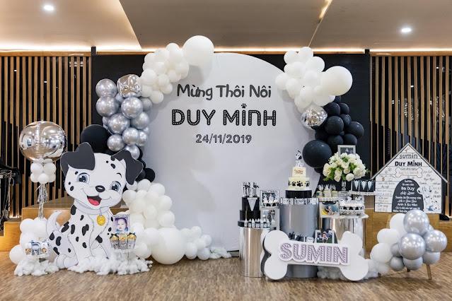 Đặt trang trí sinh nhật cho bé tại Hà Nội