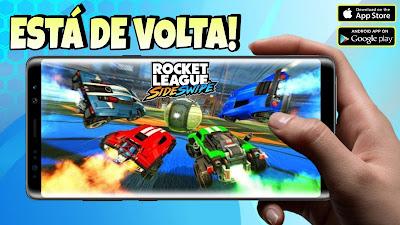 Rocket League Sideswipe nova beta