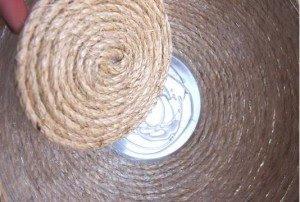 Φτιάξε διακοσμητικά μπολ με σπάγκο και σχοινί