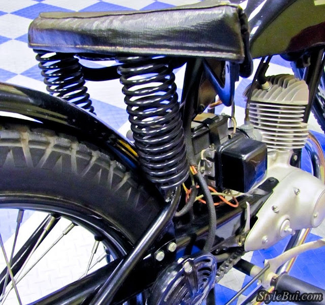 Xe cổ Harley Davidson Hummer Model S 125 1948
