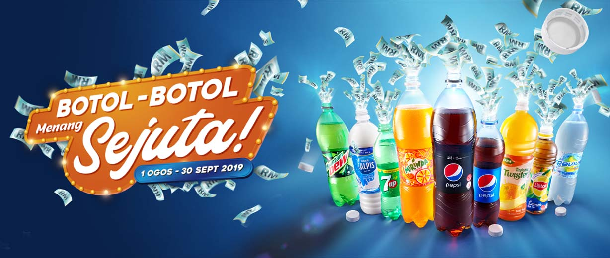 [EVENT] WIN UP TO RM3 MILLION CASH REWARDS WITH ETIKA'S BOTOL-BOTOL MENANG SEJUTA CONTEST